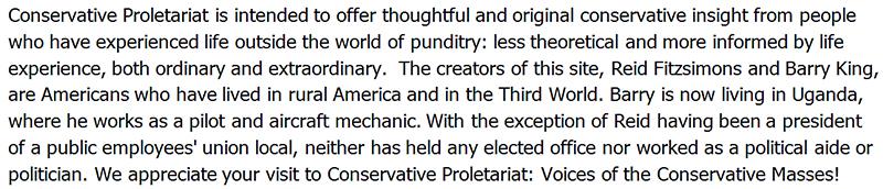 Conservative Proletariat